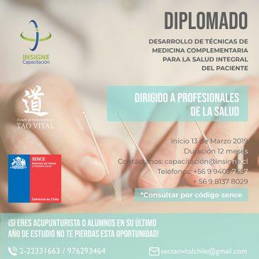 """Diplomado en """"Técnicas de Medicina Complementaria"""""""