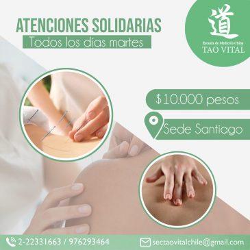 Atenciones solidarias – Santiago