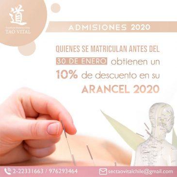 Admisiones 2020